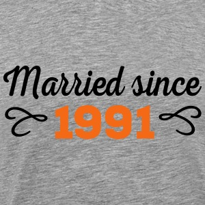 wedding anniversary T-Shirts - Men's Premium T-Shirt