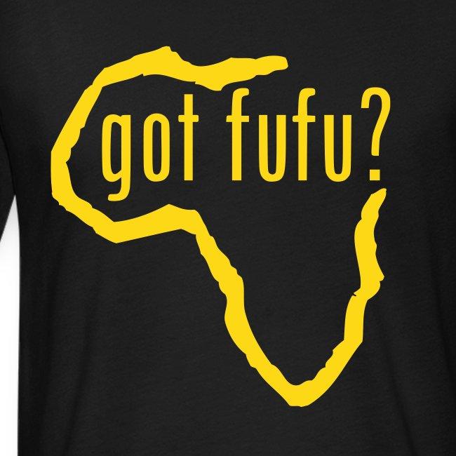 Mens - NextLevel Tee - Black - Africa - gotfufu - Gold Velvet
