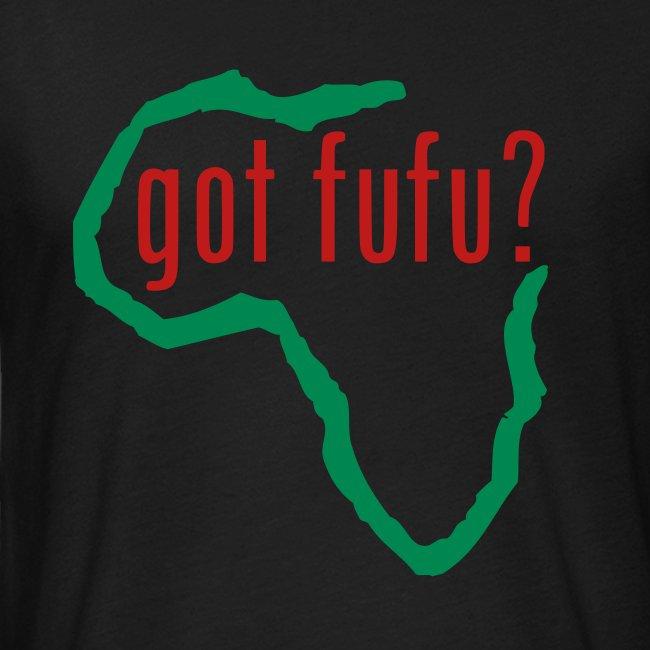 Mens - NextLevelTee - Black - Africa - Green - gotfufu Red Glitz