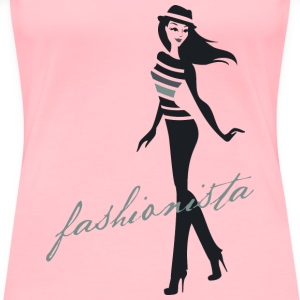 Fashionista - Women's Premium T-Shirt