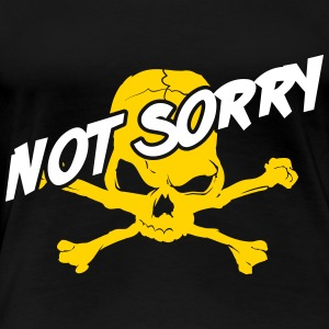Roller Derby: Not sorry! Women's T-Shirts - Women's Premium T-Shirt