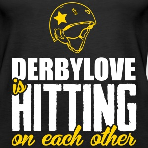 Derbylove is hitting on each other Tanks - Women's Premium Tank Top