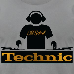 golden technic T-Shirts - Men's T-Shirt by American Apparel
