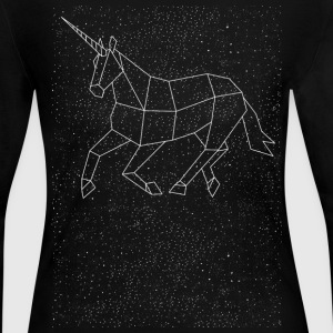 Unicorn Constellation Long Sleeve Shirts - Women's Long Sleeve Jersey T-Shirt
