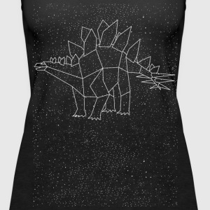 Stegosaurus Constellation Tanks - Women's Premium Tank Top