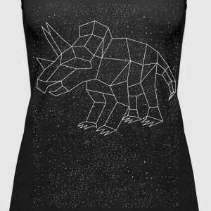 Triceratops Constellation Tanks - Women's Premium Tank Top