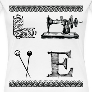sewing - Women's Premium T-Shirt