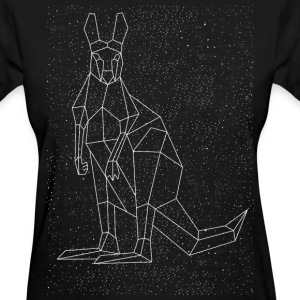 Kangaroo Constellation Women's T-Shirts - Women's T-Shirt