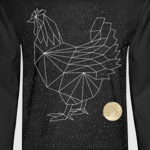 Chicken Constellation Long Sleeve Shirts - Men's Long Sleeve T-Shirt