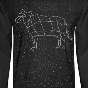Cow Constellation Long Sleeve Shirts - Men's Long Sleeve T-Shirt
