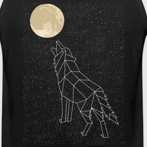 Wolf Howling At Moon Constellation Sportswear - Men's Premium Tank
