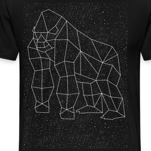 Gorilla Constellation T-Shirts - Men's Premium T-Shirt