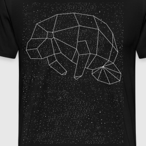 Manatee Constellation T-Shirts - Men's Premium T-Shirt