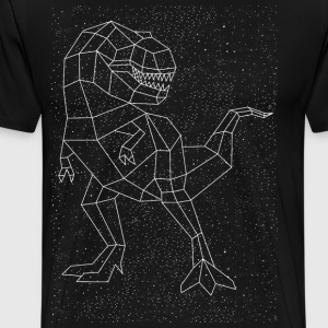 T-Rex Constellation T-Shirts - Men's Premium T-Shirt