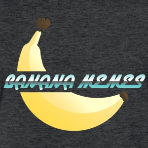 Banana Memes - Fitted Cotton/Poly T-Shirt by Next Level