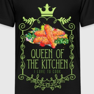 queen_of_the_kitchen_02201603 Kids' Shirts - Kids' Premium T-Shirt