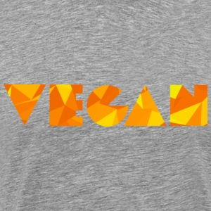 Vegan (Low Poly) T-Shirts - Men's Premium T-Shirt