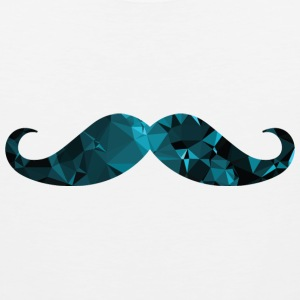Moustache (Low Poly) Sportswear - Men's Premium Tank