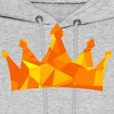 Crown (Low Poly) Hoodies