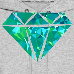 Diamond (Low Poly) Hoodies - Men's Hoodie