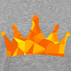 Crown (Low Poly) T-Shirts - Men's Premium T-Shirt