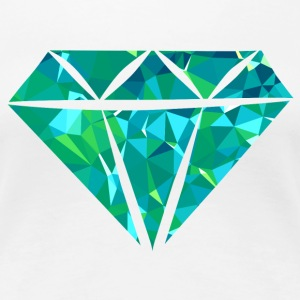 Diamond (Low Poly) Women's T-Shirts - Women's Premium T-Shirt