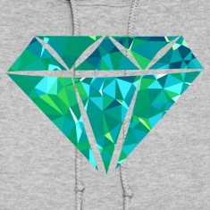 Diamond (Low Poly) Hoodies