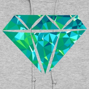 Diamond (Low Poly) Hoodies - Women's Hoodie