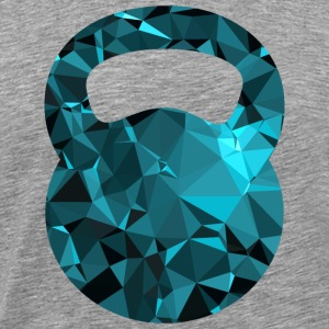 Kettlebell (Low Poly) T-Shirts - Men's Premium T-Shirt