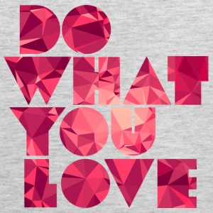 Do What You Love (Low Poly) Sportswear - Men's Premium Tank