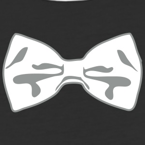 2 Color Bow Tie T-Shirts - Baseball T-Shirt