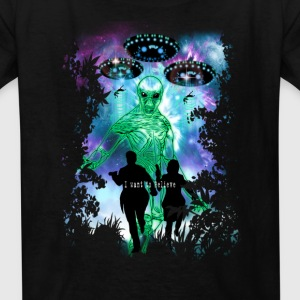 The X-Files Alien Invasion Kids' Shirts - Kids' T-Shirt