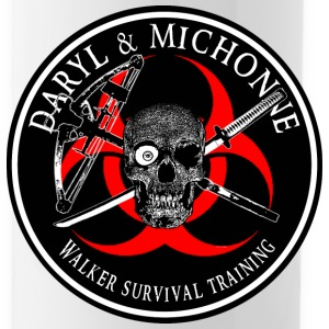 Biohazard Daryl Michonne Sportswear - Water Bottle
