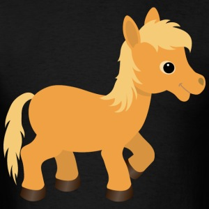 Cute Palomino Pony Horse - Men's T-Shirt