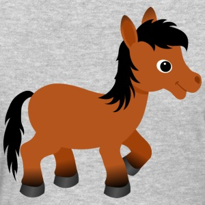 Cute Bay Pony Horse - Women's T-Shirt