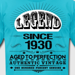 LEGEND SINCE 1930 T-Shirts - Men's T-Shirt by American Apparel