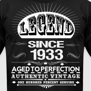 LEGEND SINCE 1933 T-Shirts - Men's T-Shirt by American Apparel