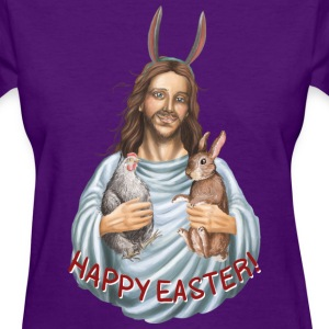 happy easter - jesus Women's T-Shirts - Women's T-Shirt