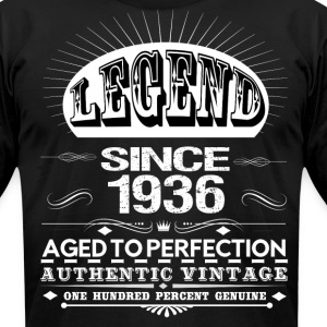 LEGEND SINCE 1936 T-Shirts - Men's T-Shirt by American Apparel
