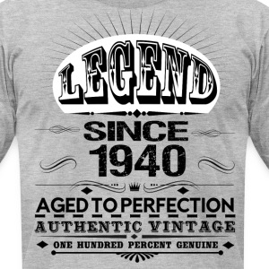 LEGEND SINCE 1940 T-Shirts - Men's T-Shirt by American Apparel