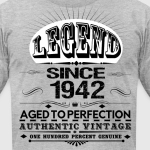 LEGEND SINCE 1942 T-Shirts - Men's T-Shirt by American Apparel