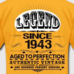 LEGEND SINCE 1943 T-Shirts - Men's T-Shirt by American Apparel