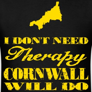 Don't need therapy/Cornwall T-Shirts - Men's T-Shirt