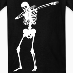 Dab Skeleton Kids' Shirts