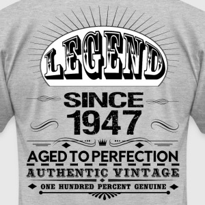 LEGEND SINCE 1947 T-Shirts - Men's T-Shirt by American Apparel