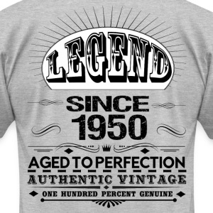 LEGEND SINCE 1950 T-Shirts - Men's T-Shirt by American Apparel