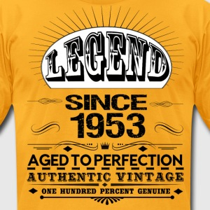 LEGEND SINCE 1953 T-Shirts - Men's T-Shirt by American Apparel