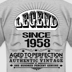 LEGEND SINCE 1958 T-Shirts - Men's T-Shirt by American Apparel