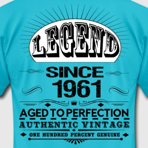LEGEND SINCE 1961 T-Shirts - Men's T-Shirt by American Apparel
