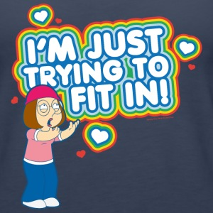 Family Guy I'm Just Trying to fit in! - Women's Premium Tank Top